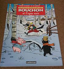 Bouchon le petit cochon 4 EO Bouchon et l'ogre noir Taymans Baldwin Casterman