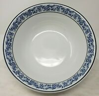 Royal Porcelain Kingdom of Thailand Serving Vegetable Bowl White Blue Floral
