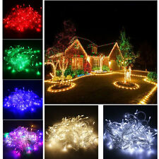 Waterproof 220V 10M 100 LED Bulb Christmas Fairy Party Holiday Deco String Light