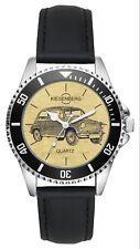 Geschenk für FIAT 600 Oldtimer Fahrer Fans Kiesenberg Uhr L-6470