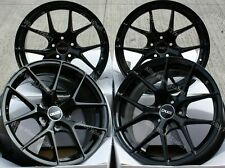 "ALLOY WHEELS X 4 19"" BLACK GTO FOR 5X108 LAND ROVER RANGE ROVER EVOQUE VELAR"