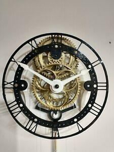 3D Puzzle Working Model Mechanical Gear Compact Pendulum Clock Building Kit