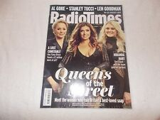 Radio Times Magazine 19th August 2017 Coronation Street Women Al Gore Constable