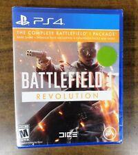 Battlefield 1 Revolution (Sony Playstation 4 PS4) Brand New Sealed Free Shipping
