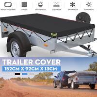 5 x 3 ft Trailer Cover Dust Protector Heavy Duty Waterproof 5ft 3ft 152 x 92 cm