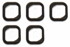 5x Replacement Rubber Gasket Home Button Holder Adhesive Sticker iPhone 5S - OEM