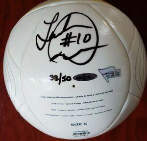 Autographed LA Galaxy Landon Donovan Soccer Ball - LE #38 of 50 - Upper Deck