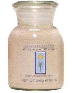 Crabtree & Evelyn Cayman Wind Bath Grains Sand Papaya Mango Bath Soak