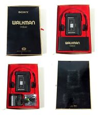 LEGENDARY SONY WM-3 DELUXE CASED RARE WALKMAN FULLY WORKING SOUNDS EXCELLENT