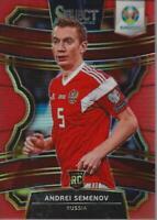 2020 Select UEFA Euro Prizms Orange #10 Andrei Semenov /125