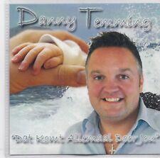 Danny Temming-Dat Komt Allemaal Door Jou Promo cd single