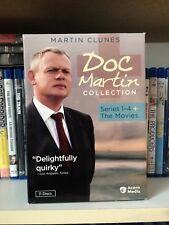 Doc Martin Collection: Series 1-4 + The Movies (DVD 11-Disc Set) Region 1