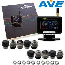 AVE Truck TPMS TLCD 10 External Sensors + Antenna Get Free LF Easy and Quick DIY