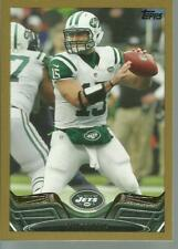 2013 Topps Gold Tim Tebow card # 326 New York Jets /2013
