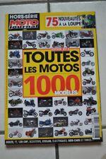 MOTO JOURNAL HORS SERIE 2917 H TOUTES LES MOTOS ** 1000 MODELES ** EDITION 2013
