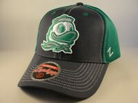 Oregon Ducks NCAA Zephyr Adjustable Strap Hat Cap Gray Green