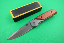 Red acid Saber Brn Knife Outdoor Hiking Hunting Fishing Travel Tool Gift New