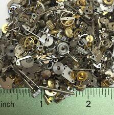 15 Grams of Watch Parts Steampunk Gears Altered Art Repair Vtg Lot Repair Crowns