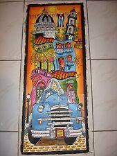 CUBAN  Art Oil Oleo Painting Arte Cubano  OLD HAVANA