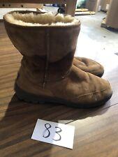 UGG Men's 5220 Boots Chestnut Suede Shearling Lined M 9 Ultra Short