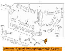 GM OEM Radiator Support-Headlamp Bracket Left 22891633