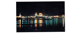 Corpus Christi, Texas, Christmas Lights, Lovely Scenic View, Unposted- Postcard