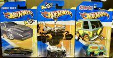 Hot Wheels Mars Rover Curiosity + K.I.T.T. + The Mystery Machine 2012 New Models