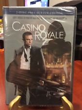 CASINO ROYALE  (2 Disc-DVD FS ED, 2006) Daniel Craig is James Bond 007/MfgSealed