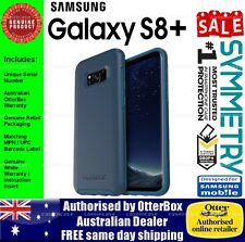 Samsung Galaxy S8+ OtterBox Otter Box Symmetry Heavy Duty Tough Blue Case Cover
