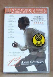 12 ANNI SCHIAVO DVD - (2013) ORIGINALE-UN FILM DI STEVE MCQUEEN
