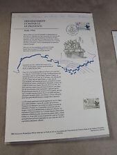 Collection Historique Timbre Poste 1er Jour 13/08/94 - bataille de provence