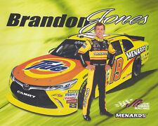 "2018 BRANDON JONES ""TIDE MENARDS"" #19 NASCAR XFINITY HERO CARD POSTCARD"