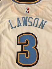 Ty Lawson Denver Nuggets adidas Player Swingman Home Jersey - White Size Large