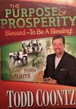 Todd Coontz The Purpose of Prosperity. Rock Wealth Ministries new CD.