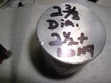 """1 PC. 2 3/8"""" ALUMINUM ROD  (6061 ) 2 1/2 """"OR LONGER 2/3/8"""" DIAMETER ROUND BAR"""