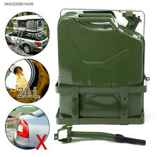 Green 20L (5 Gallon Gal ) Jerry Can  Backup steel tank Fuel Gas Gasoline