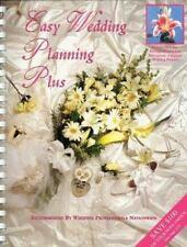 Easy Wedding Planning Plus by Elizabeth H. Lluch and Alex A. Lluch (1998,...