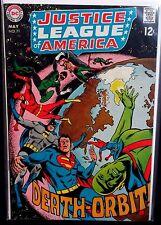 JUSTICE LEAGUE OF AMERICA #71 (VF) Martian Manhunter leaves the JLA! 1969 LQQK