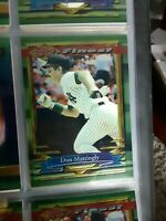 1994 TOPPS FINEST REFRACTOR #392 DON MATTINGLY YANKEES