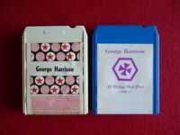 GEORGE HARRISON ALL THINGS MUST PASS 8 TRACK TAPE PART 1 & VOL.2 VG+ CONDITION.