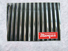 MORGAN CAR SALES BROCHURE 4/4 & PLUS 8 FOLD OUT STYLE