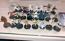 Star Wars Miniatures Rebel and Imperials Complete Set -  'Very Rare set'