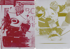 08-09 Upper Deck Cam Ward 1/1 Printing Plate Yellow 2008 Hurricanes