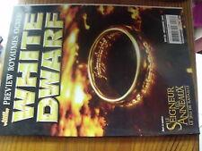 µ? Revue White Dwarf n°128 Warhammer Seigneur des Anneaux  Personnalisé figurine