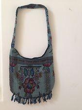 Floral Tapestry Boho Hippie Cross Body Sling Shoulder Hobo Messenger Bag Casual
