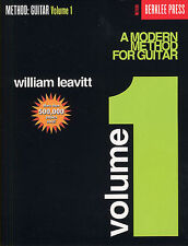 A Modern Method For Guitar Learn to Play Easy Beginner Music Book 1