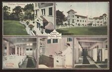Postcard COLFAX Iowa/IA  Hotel Mineral Baths Multi-views 1907