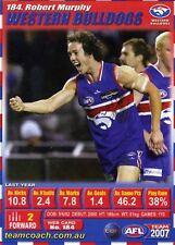 2007 TeamCoach (184) Robert MURPHY Western Bulldogs