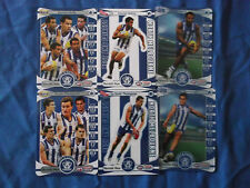 2014 TEAMCOACH HEARLD SUN AFL CARDS KANGAROOS B & F WELLS & THOMPSON SET OF 6
