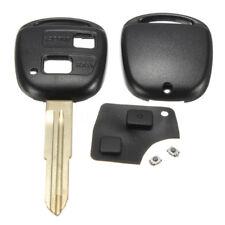 2 Botón Carcasa Llave Remoto Mando Funda + Key Reparación Kit Para Toyota Yaris